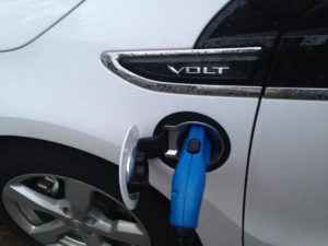 Chevy Volt charging