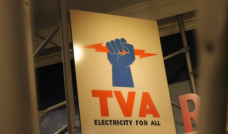 TVA sign at Hyde Park, NY, By Billy Hathorn - Own work, CC0